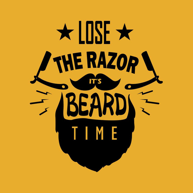 Lose The Razor Mustrad Men T-Shirt