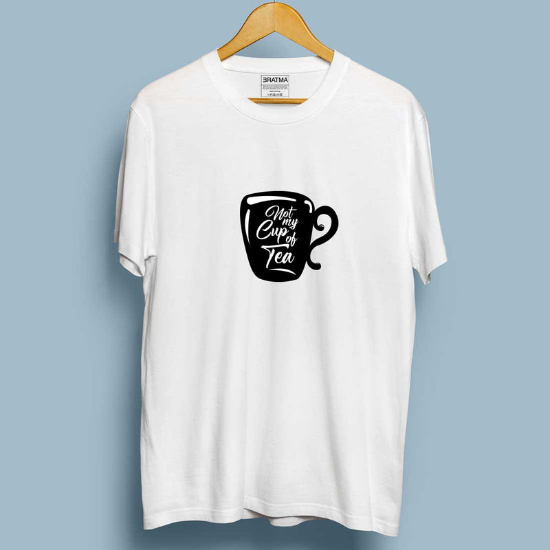 Not My Cup Of Tea White Men T-Shirt
