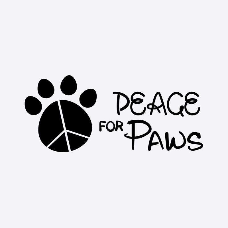 Peace For Paws White Women T-Shirt