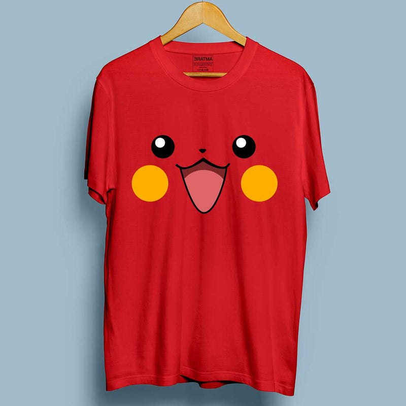 Pikachu Red Women T-Shirt