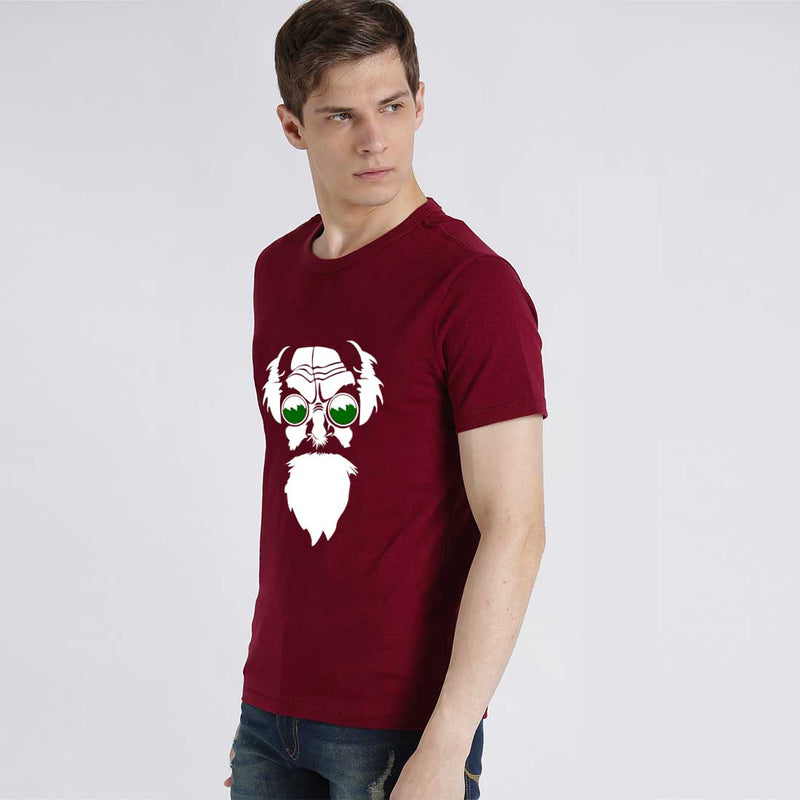 Professor X Maroon Men T-Shirt
