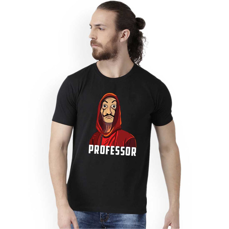 Professor Heist Men Half Sleeves