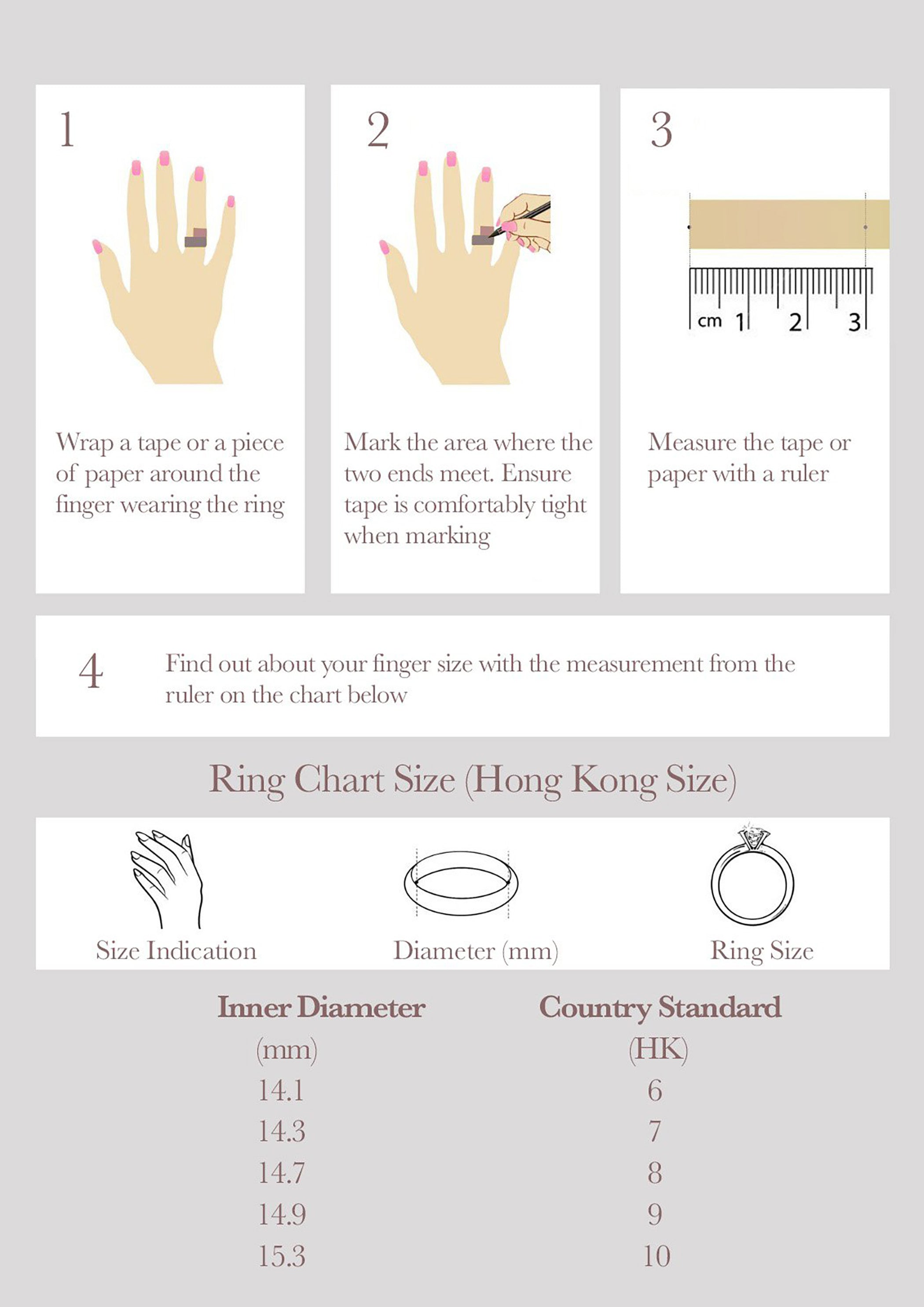 Ring Size Guide 1