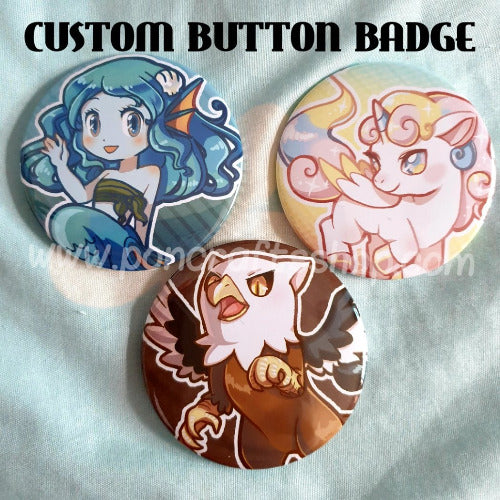 Custom Button Badge - PonCrafts