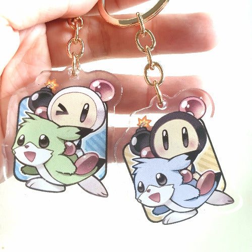 SB3 Keychain[Double-sided Keychain] - PonCrafts