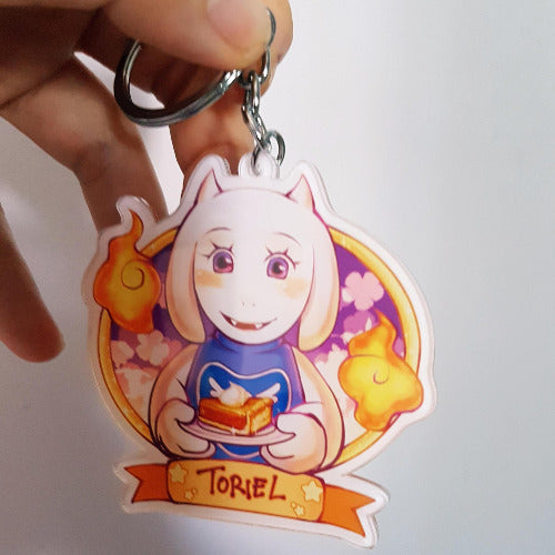 Undertale x Food [Doublesided Acrylic Keychains] - PonCrafts