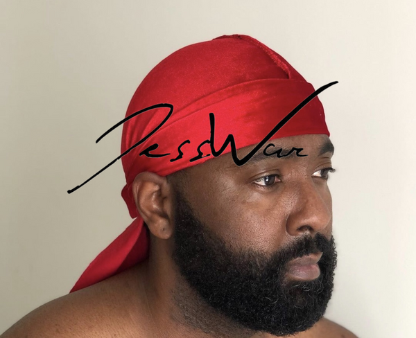 JessWar Dirty Red Durag