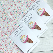 Load image into Gallery viewer, Mini Ice Cream Clip - Sprinkles