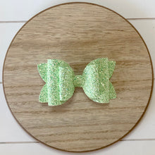 Load image into Gallery viewer, Double Bella Bow - Micro Glitters