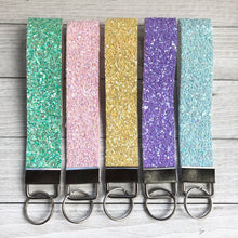 Load image into Gallery viewer, Key Fob Wristlet - Glitters