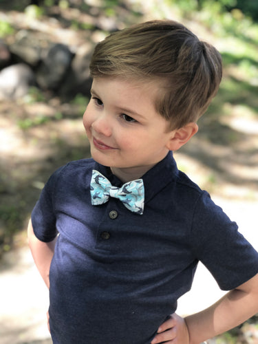 Shark Bow Tie for Boys
