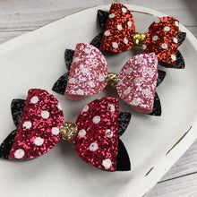 Load image into Gallery viewer, Large Bella Bow - Minnie