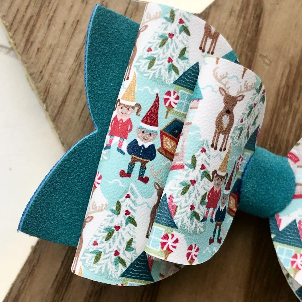 Double Bella Bow - North Pole