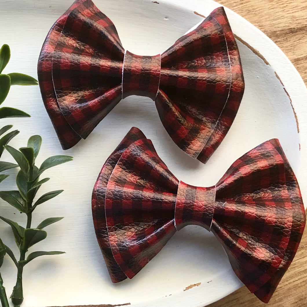 Audrey Bow - Buffalo Plaid