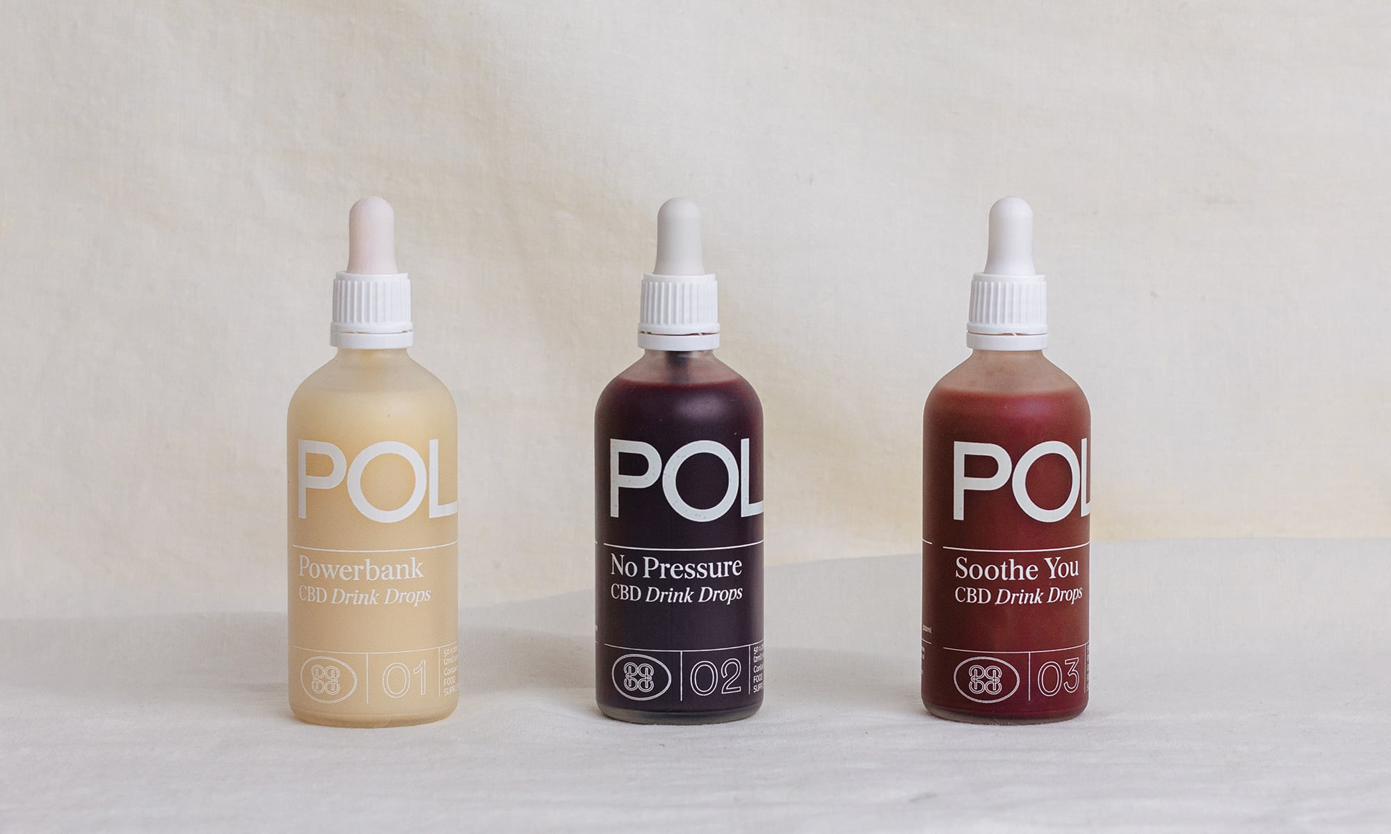 Pollen CBD drink drops for sale in the UK at Roots