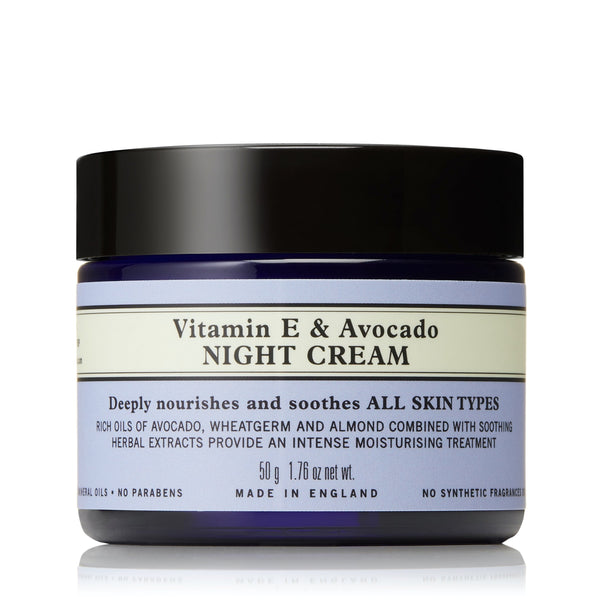 Vitamin E and Avocado Night Cream