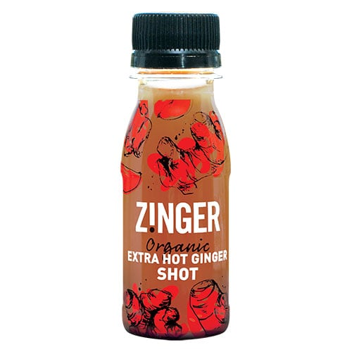 Organic Extra Hot Ginger Shot