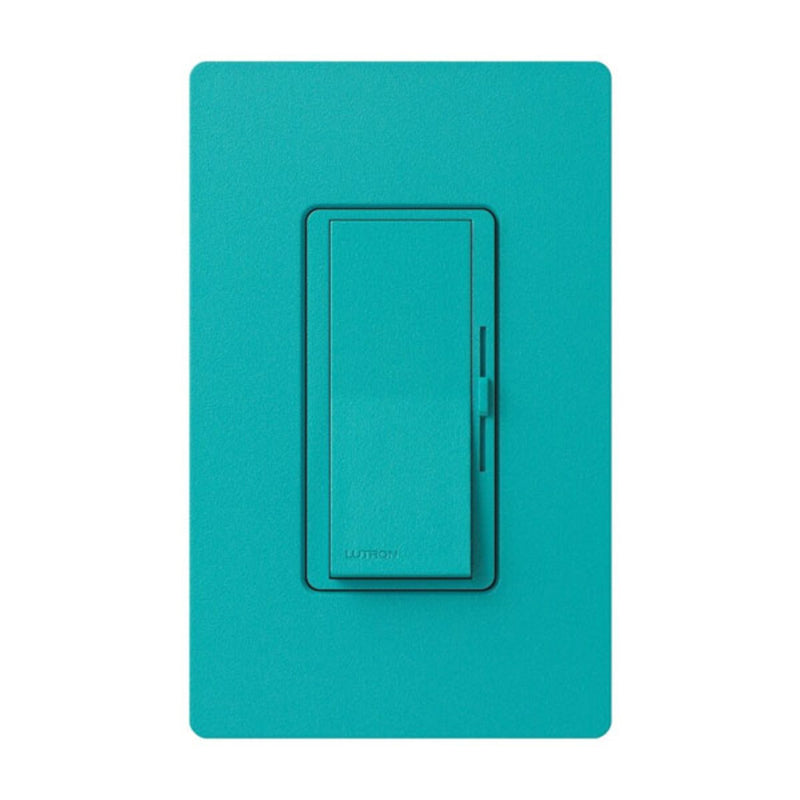 Lutron DVSCLV103PTQ Diva Magnetic Low Voltage Preset Dimmer - Turquoise