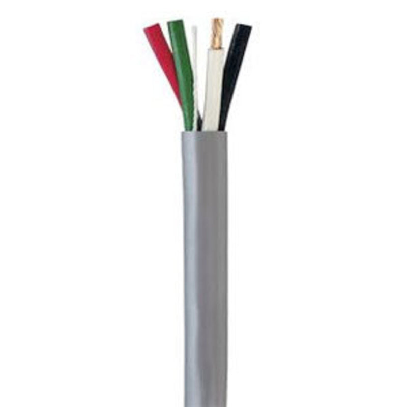SCP 22/4-GY 4C/22 AWG STRANDED PVC/ GRAY COLOR/ 1000FT BOX