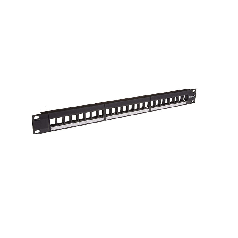 OnQ WP24RM 24-Port Keystone Rack Mount Patch P