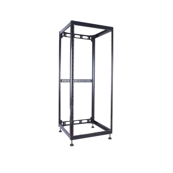 RACK SK28 28 Space Skeleton Rack with Leveling Feet