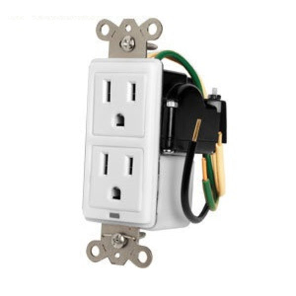 Panamax MIW-SURGE-1G 15A In-Wall Duplex, 2 Outlets, W/ Surge Protection