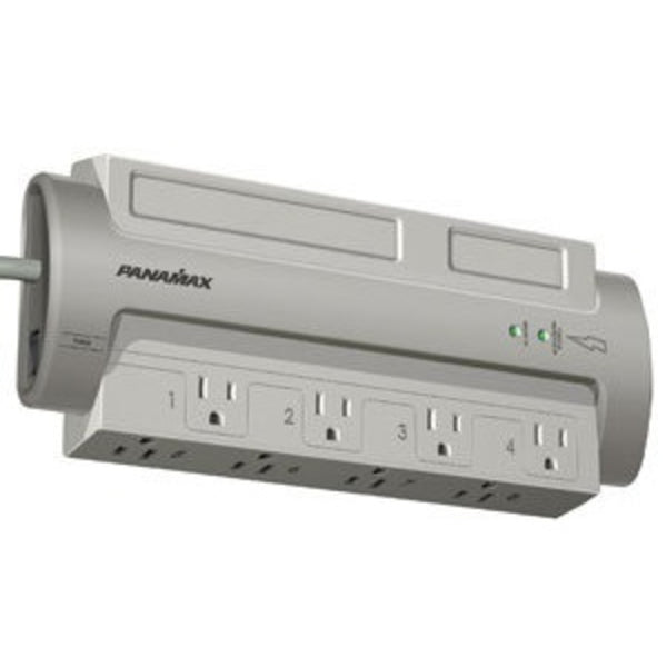 Panamax PM8-EX 8-Outlet PowerMax Surge w/Noise Filtration