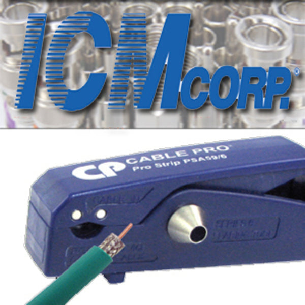 ICM PSA59/6 Rg59 & Rg6 Cable Stripper