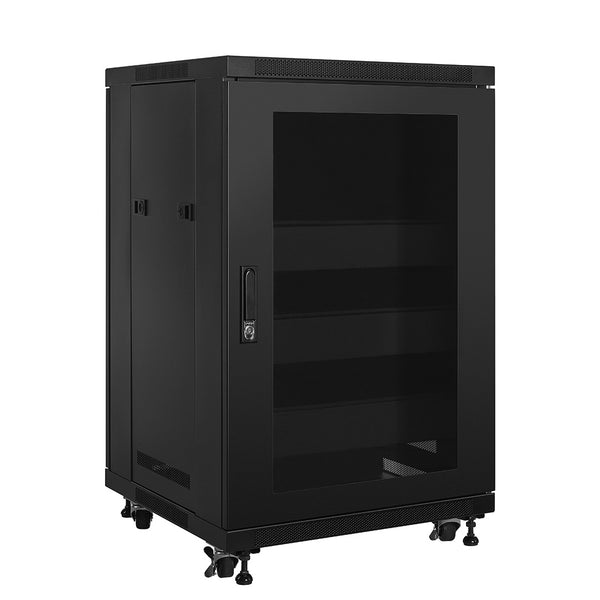 RACK ER18 18-Space Enclosed Rack with Active Cooling