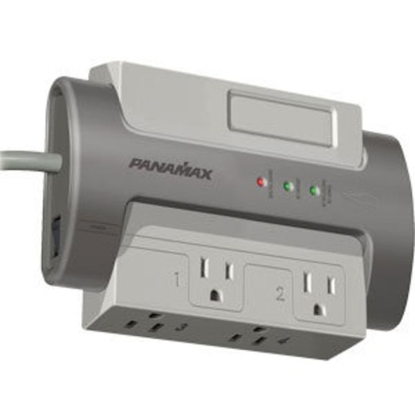 Panamax M4-EX 4 Outlet Surge Protection Strip, AC Only
