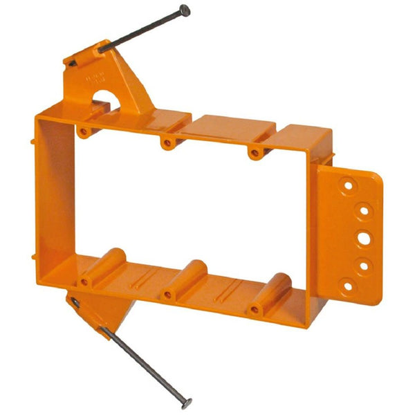Carlon SC300A New Work Nail-On 3 Gang Low-Voltage Mounting Bracket  (FINAL SALE)