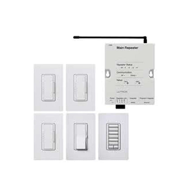 Lutron RRFDNCLWH Ra2 Cl Foundation Package