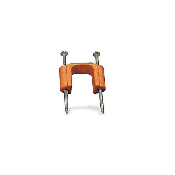 "Carlon SC12CC 1/2"" Low Voltage Cable Clip With Pre-Installed Nails (FINAL SALE)"
