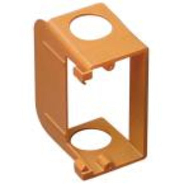 Carlon SC100SC 1Gang Low Voltage Add-On Bracket Orange color (FINAL SALE)