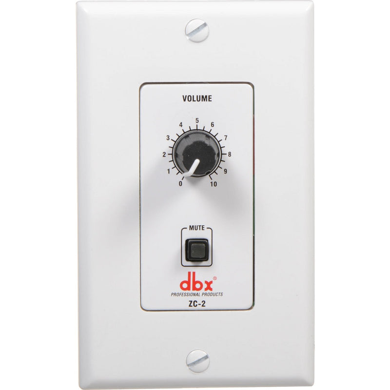 DBX ZC-2 Zc 2 Wall Mounted Programmable Zone Controller