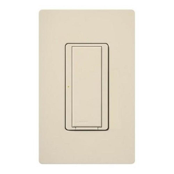 Lutron RRD-8ANS-TP RadioRA 2 8A Neutral Wire Electronic Switch - Taupe