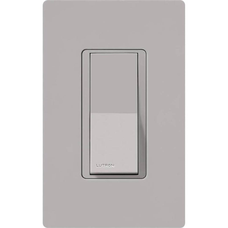 Lutron CA-1PSH-GR-CSA Claro Single Pole General Purpose Switch - Gray