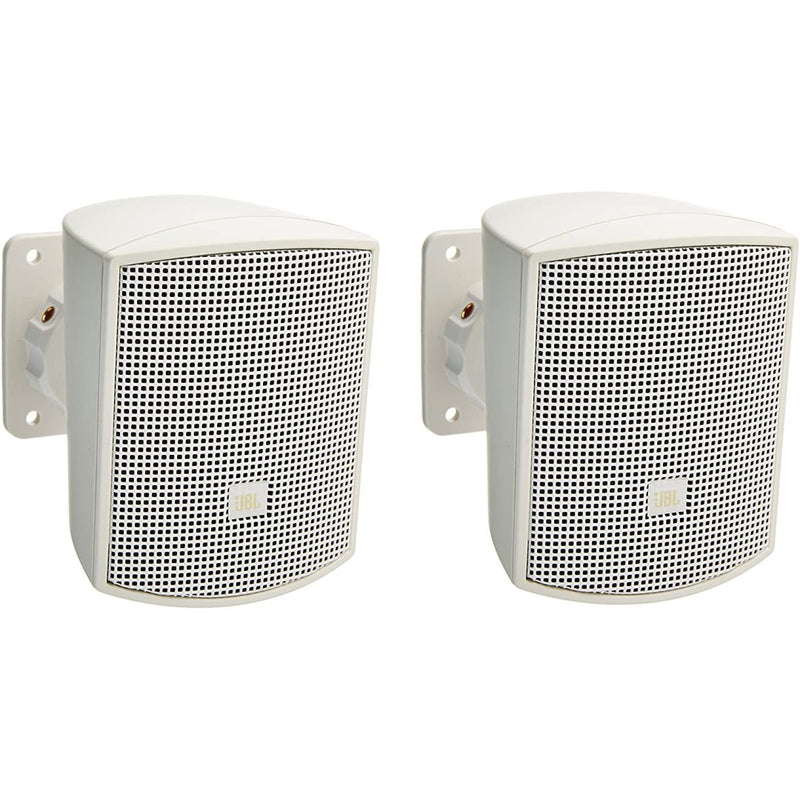 "JBL CONTROL-52-WH  Satellite Speaker 2.5"" Low-Distortion Driver - White"