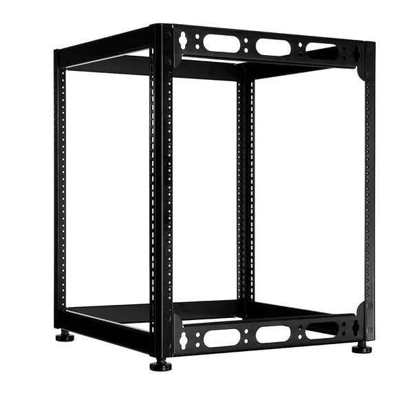 RACK SK14 14 Space Skeleton Rack with Leveling Feet