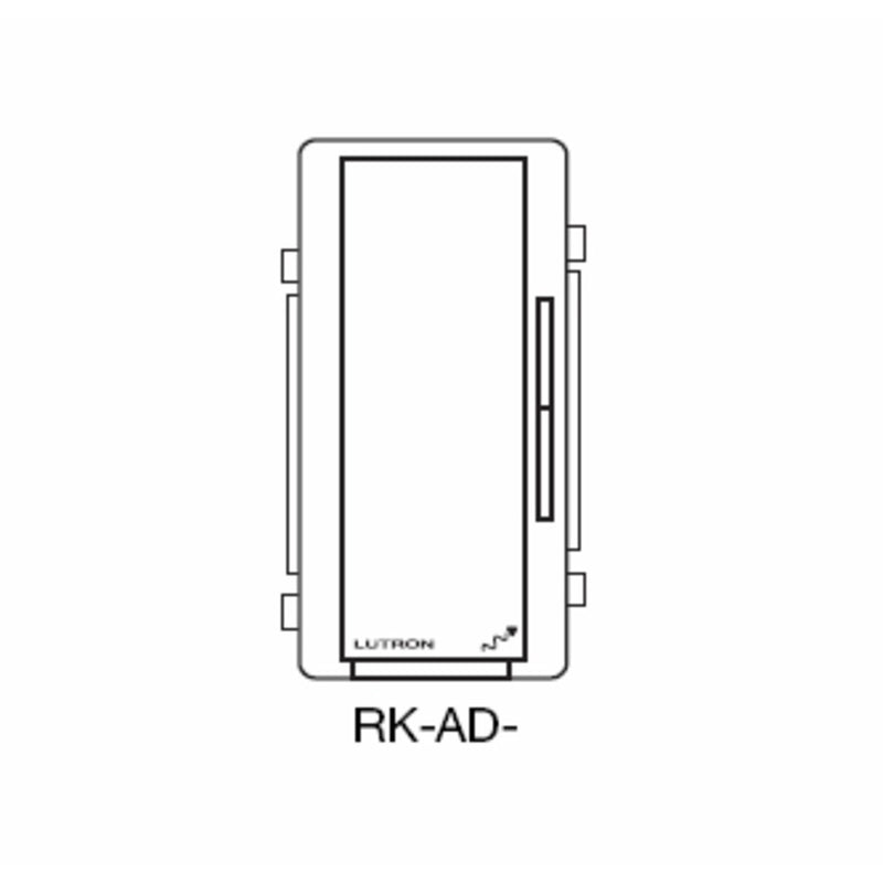 Lutron RK-AD-LA Accessory Dimmer Color Change Kit - Light Almond