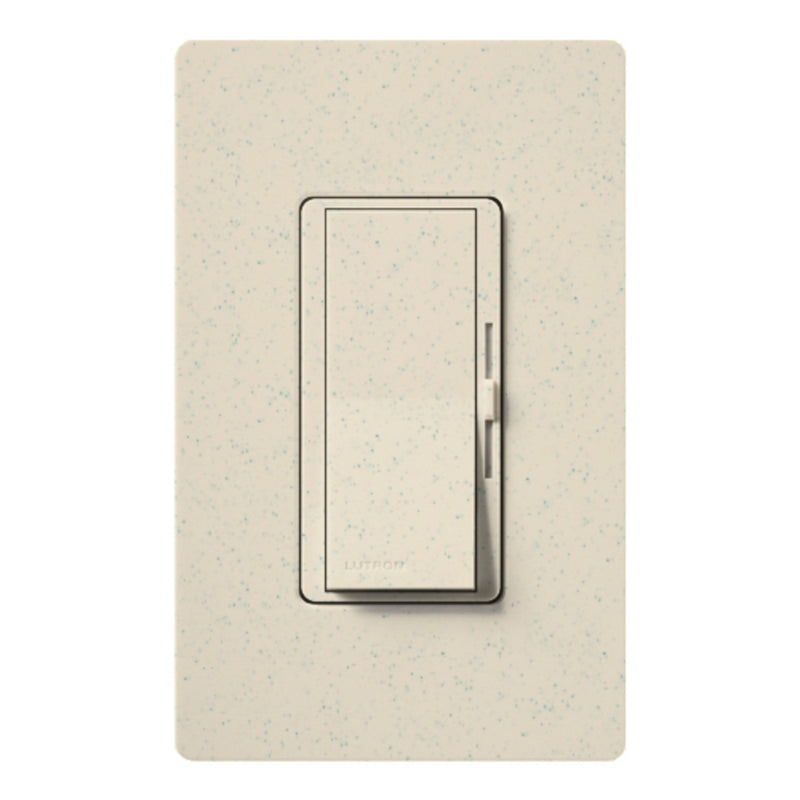 Lutron DVSCLV-600P-LS Diva Magnetic Low Voltage Preset Dimmer - Limestone