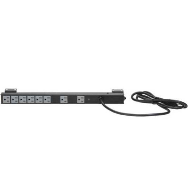 SANUS CAPS12-B1 Vertical Power Strip and Surge Protector
