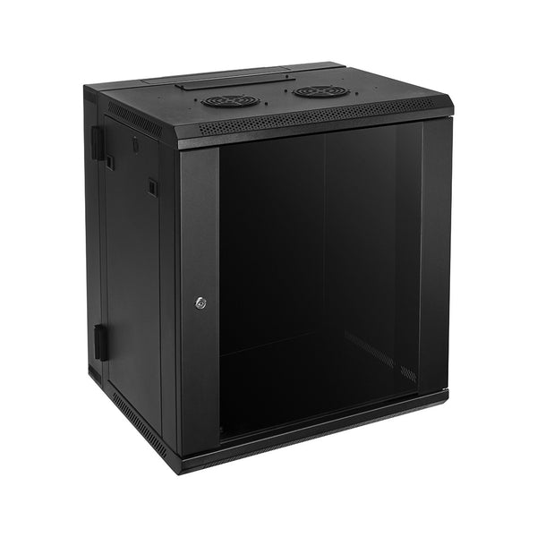 RACK ER12W 12-Space Enclosed Wall Rack