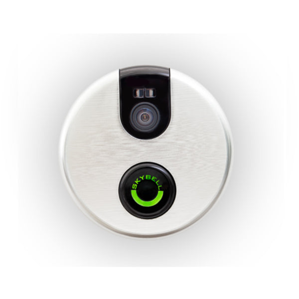 Alarm.com ADC-VDB101 Satin Nickel Wifi Doorbell Camera