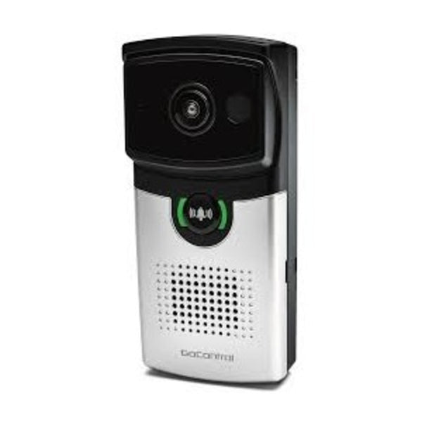 2GIG GC-DBC-1 GoControl Doorbell Camera, Two-Way Audio, 180 Degree Lens, H.264, WiFi, Ip 65, Satin Nckl Face Plt