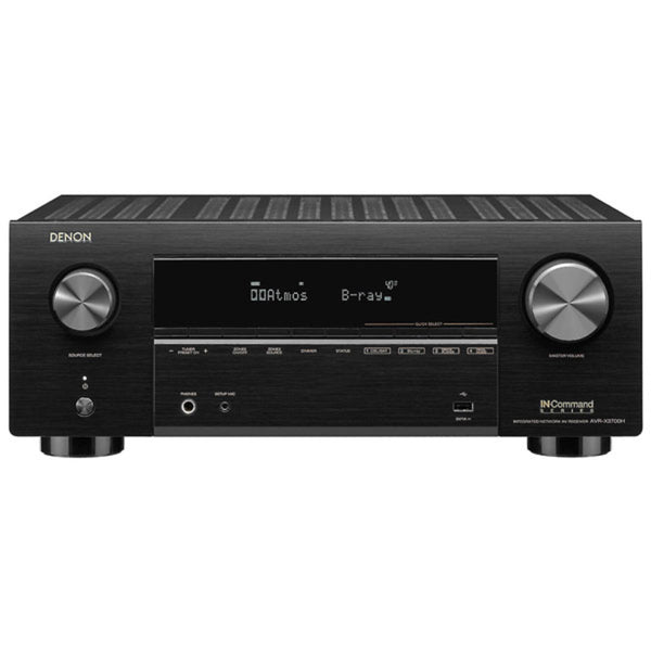 Denon AVR-X3700H 9.2 Channel 8K AV Receiver With