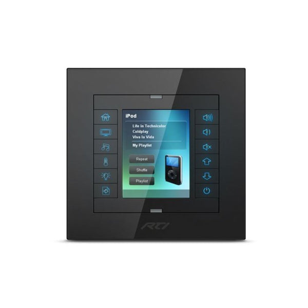 "RTI KX2 2.4"" In-Wall System Controller"