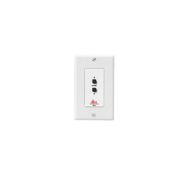 DBX ZC-6 Zc 6 Wall Mounted Push Button Up/Down Controller