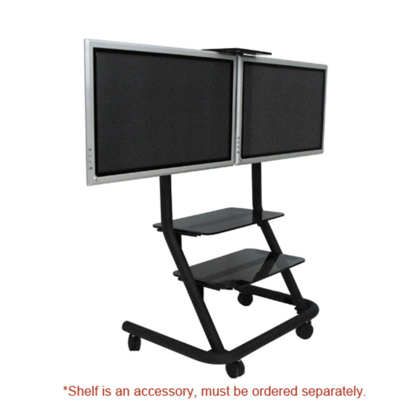 Chief PPD2000 Dual Display Video Conferencing Cart (Without Interface)