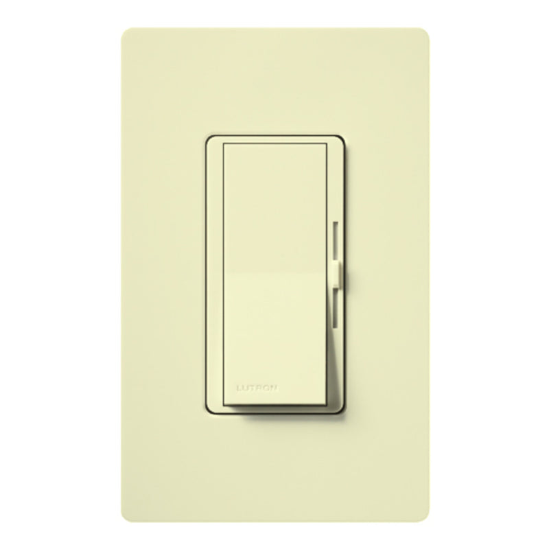 Lutron DV-103P-AL-CSA Diva 1000W 3-way Dimmer with Nightlight - Almond
